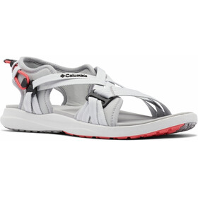 Columbia Sandalen Dames, grey ice/red coral